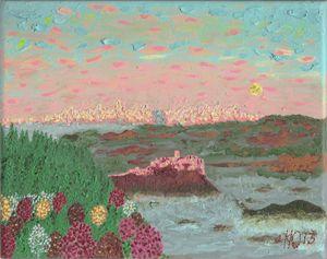 Zips Castle2 - Philip's Oil Paintings