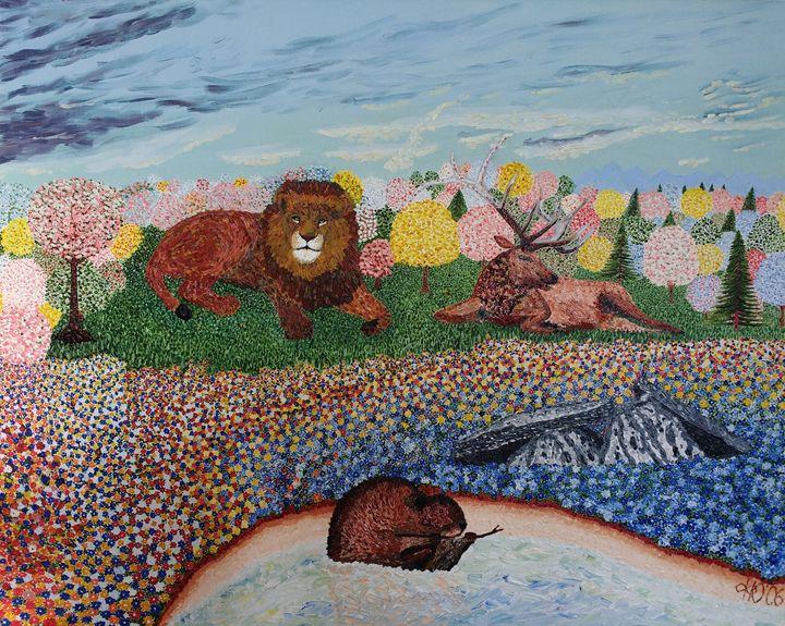 Narnia - Philip's Oil Paintings