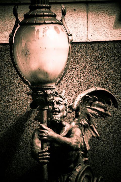Statue of a demon - Maor Winetrob