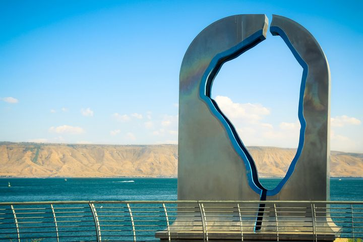 Statue of the Sea of Galilee - Maor Winetrob