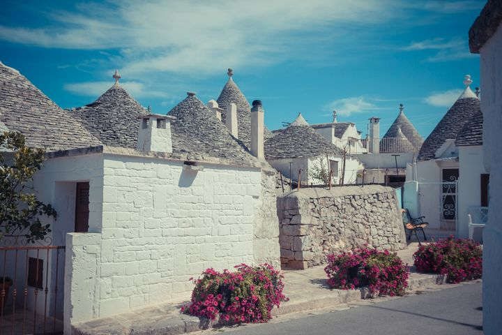 Trulli houses - Maor Winetrob