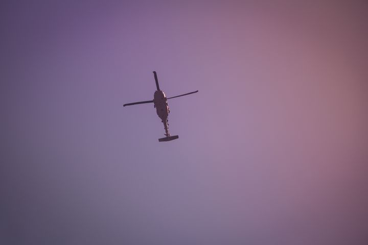 Israeli military helicopter - Maor Winetrob