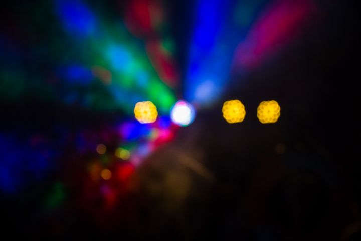 Abstract blurred bokeh party lights - Maor Winetrob
