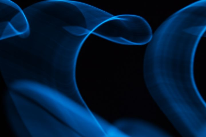 Glowing abstract curved lines - Maor Winetrob