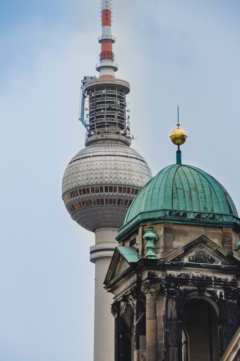 Berlin Cathedral and The TV Tower - Maor Winetrob