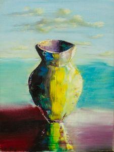 Vase on the coast