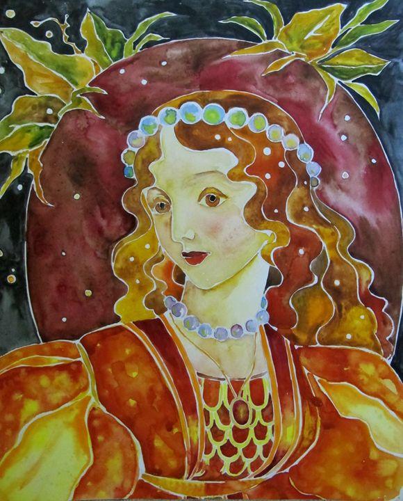 Golden Autumn. - Tania's Art