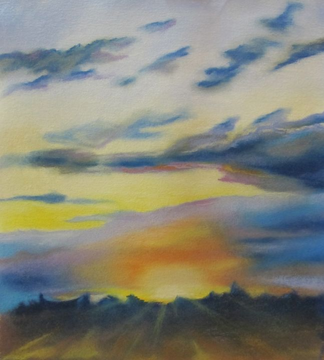 Sunset. - Tania's Art