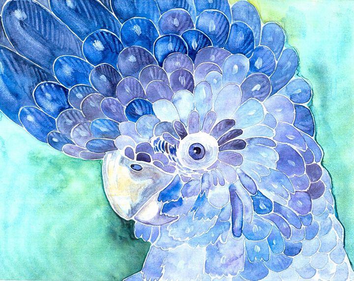 Blue Parrot - Tania's Art