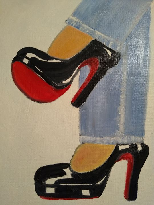 The Red shoes - Linda Gillespie