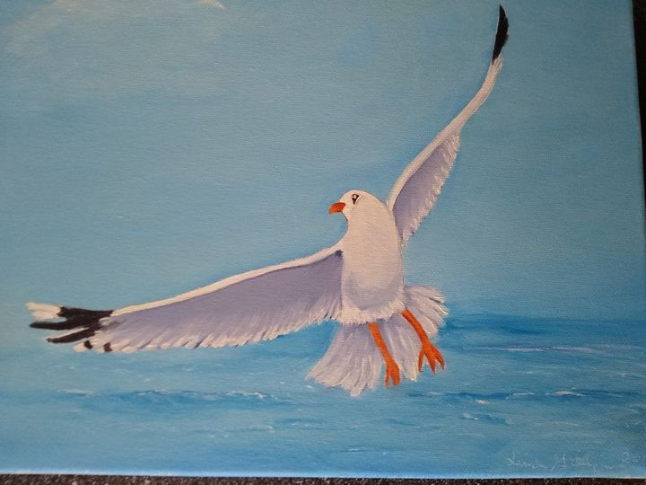 Johnathan the seagull - Linda Gillespie