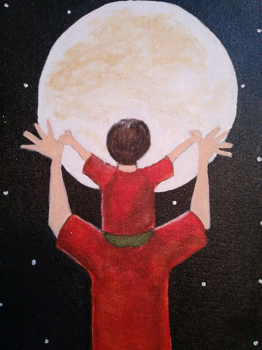Reach for the Moon - Linda Gillespie