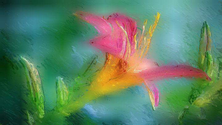 Abstract Art LucidVille - Art Connect