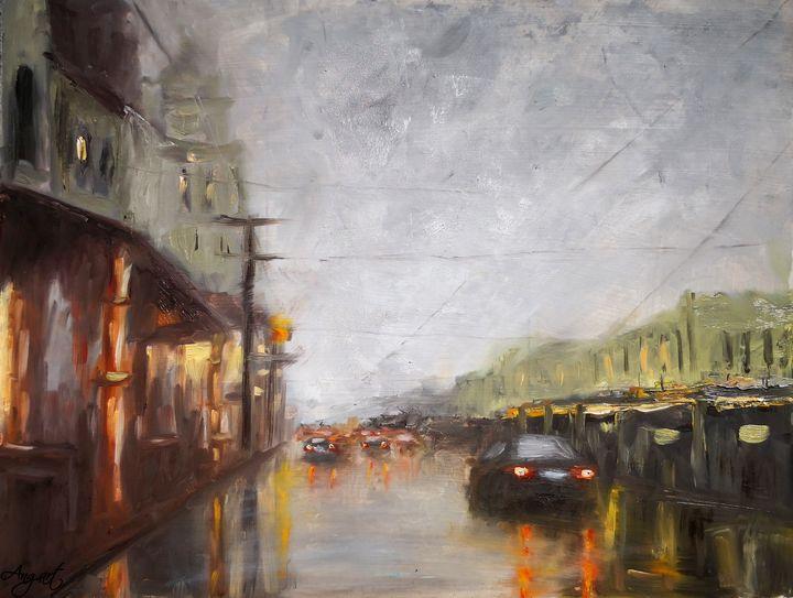 After heavy rain - Angelique Art