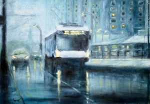 Winter City - Angelique Art