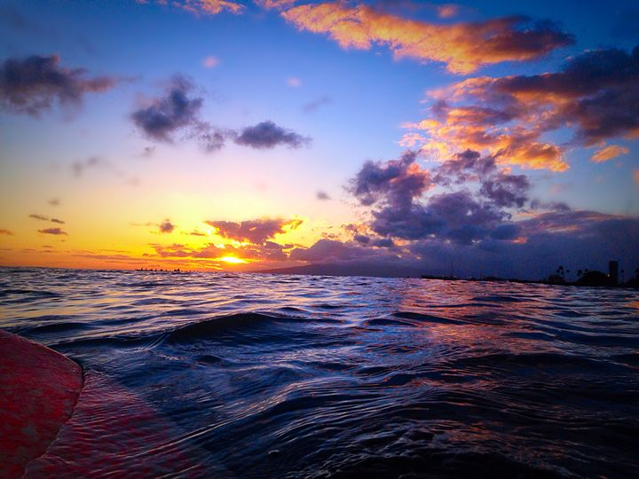 Sunset from the Water - B_Wongo Photography