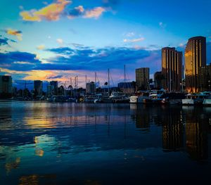 Ala Wai Harbor Sunset