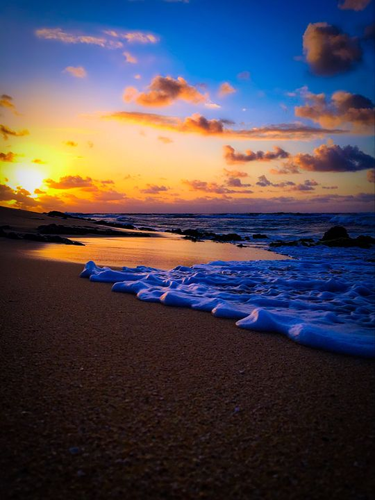East Oahu Shoreline Sunrise - B_Wongo Photography
