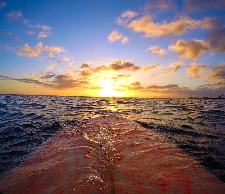 Sunset From The Water Immerse - B_Wongo Photography