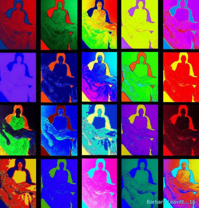 Colors of the Pieta - barbara leavitt