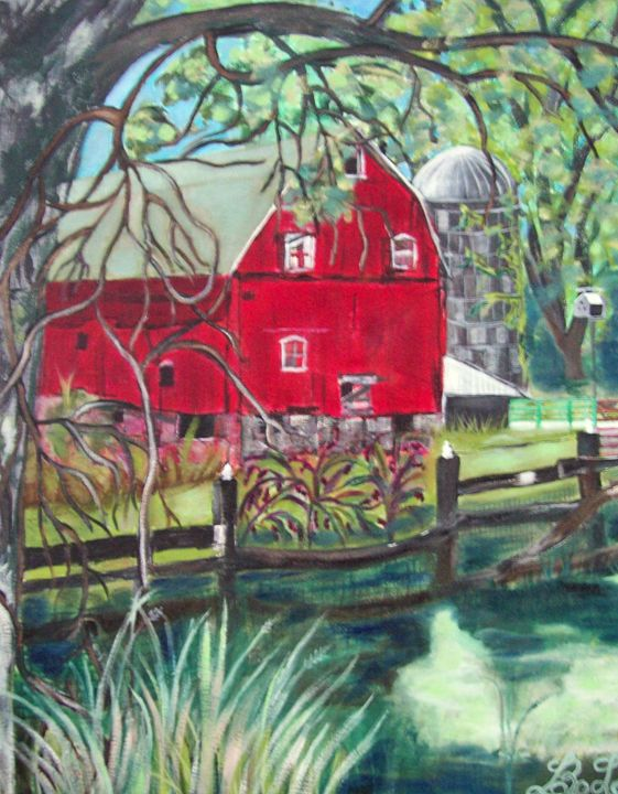 Red Barn - barbara leavitt