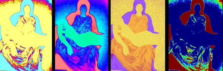 Four Pietas - barbara leavitt