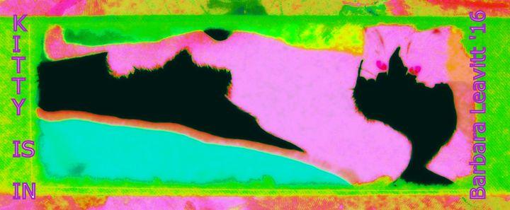 Kitten is in - barbara leavitt