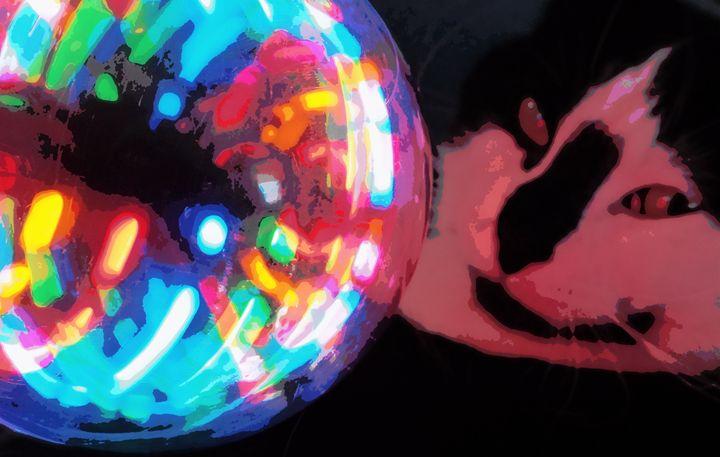 Ball and Kitty - barbara leavitt