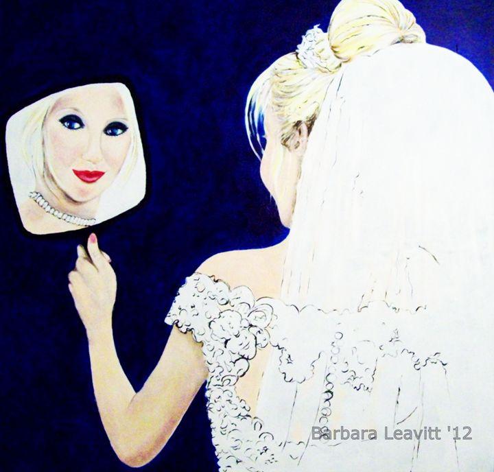 Bride with Mirror - barbara leavitt