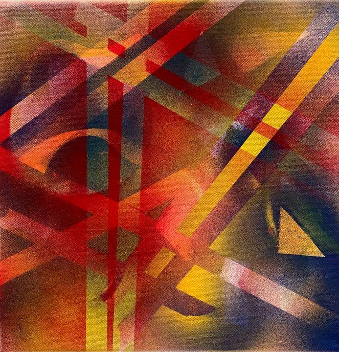 Spray Paint Composition 1 - Jordan Banion Art