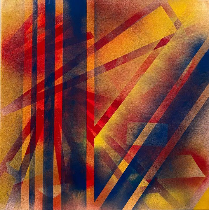 Spray Paint Composition No. 2 - Jordan Banion Art