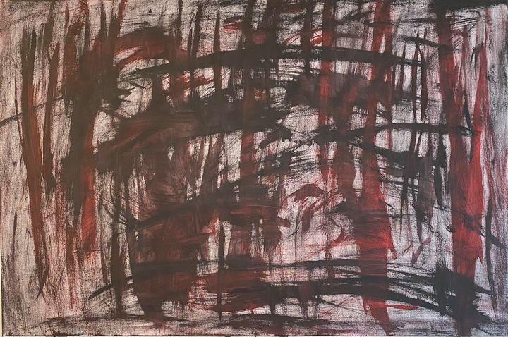 Red in Black - Jordan Banion Art