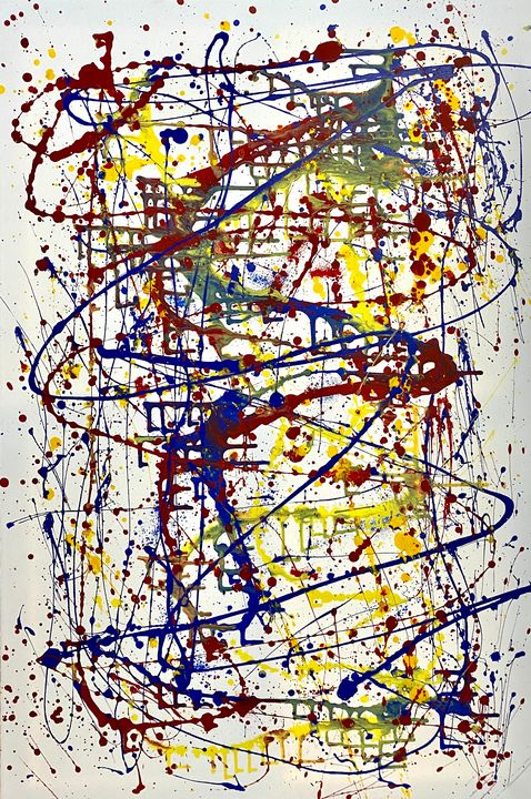 Composition no. 2 - Jordan Banion Art