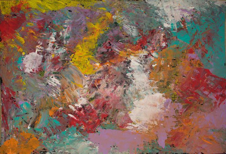 Acrylic Abstract No. 2 - Jordan Banion Art
