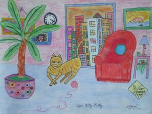 420 City Kitty - ArtStorms