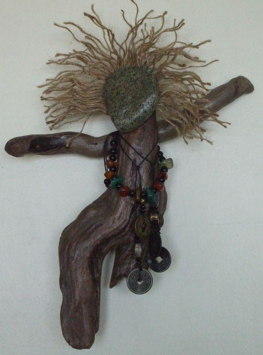 Dangerous A Driftwood Art Assemblage - ArtStorms