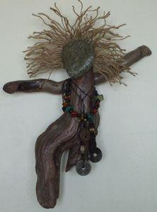Dangerous A Driftwood Art Assemblage