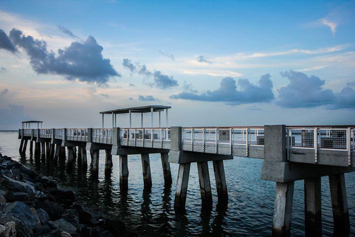 Pier at South Beach - MC's Life Art