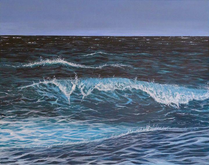 Ocean wave - Acrylikoral