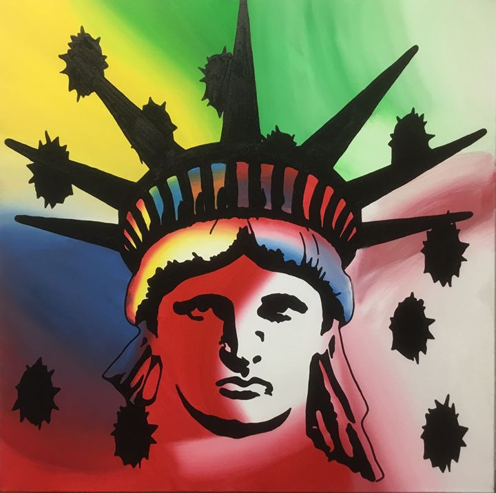 The killing of Lady Liberty - WB Art