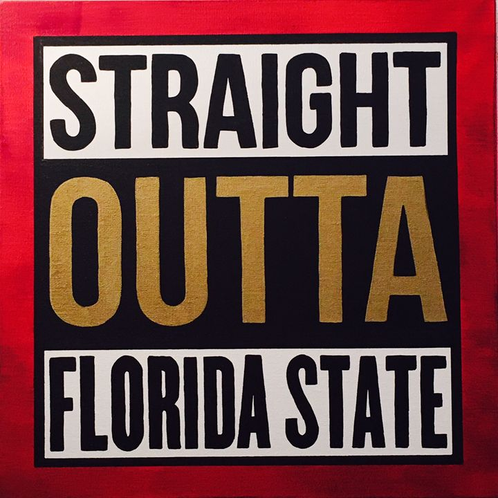 Straight out of Florida State - WB Art