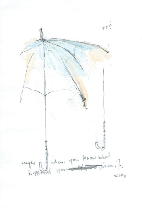 Umbrella Series Works on Paper - Aaron Mitchell