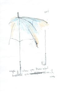 Umbrella Series Works on Paper