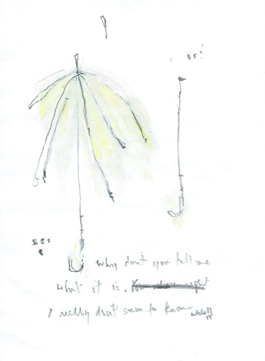 Umbrella Series - Works on Paper - Aaron Mitchell
