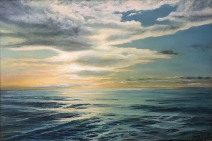 Sunrise at sea - Dorothy Sitka Studio