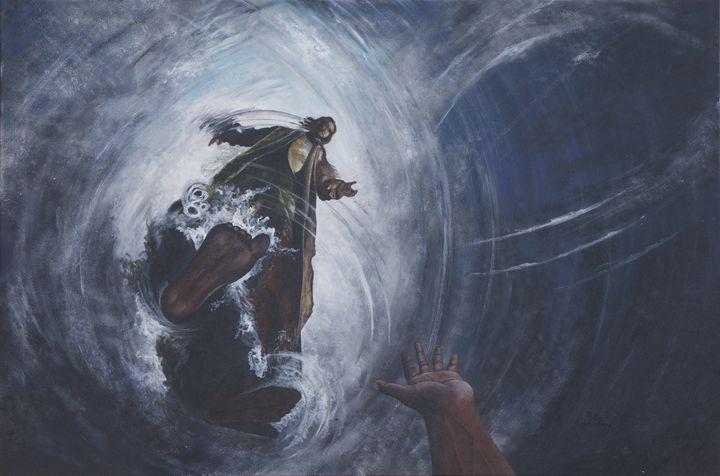 Jesus--A Present Help - LaToya's creative art