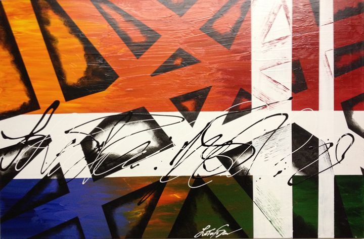 Stripes - LaToya's creative art