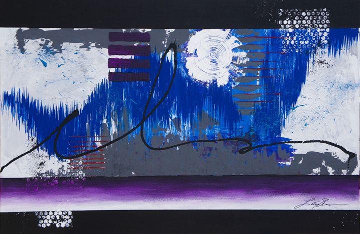 Shock Wave Winter - LaToya's creative art