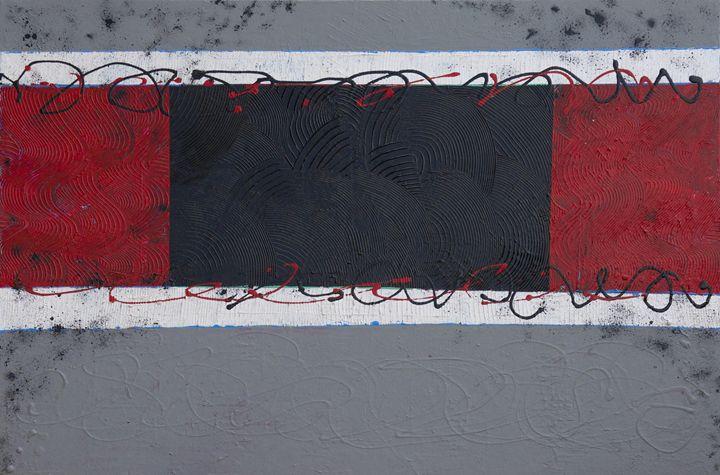 Between the Gray - LaToya's creative art