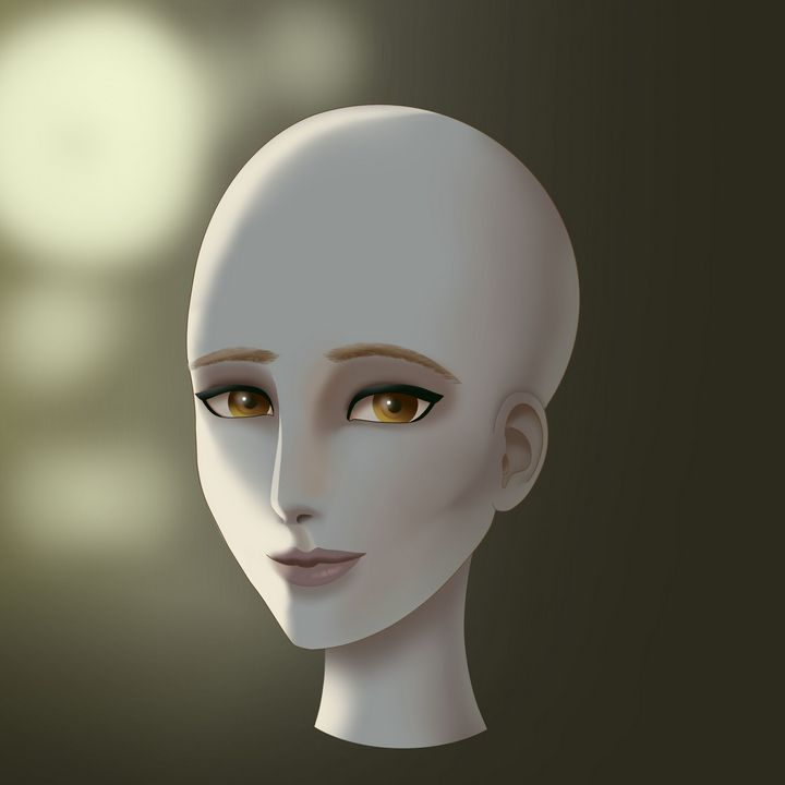 bald woman - Annadian